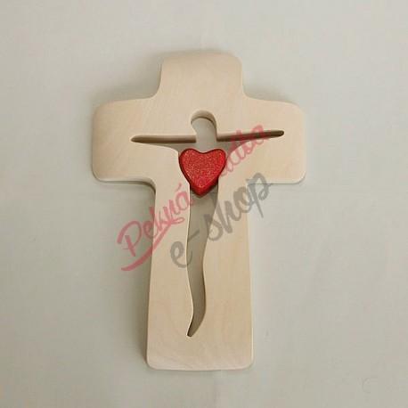 Drevený kríž 21x14 cm - A28