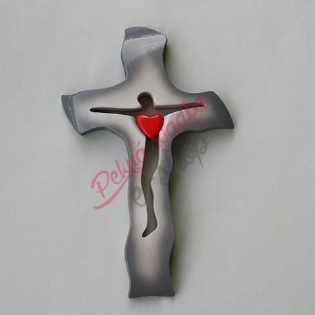 Svadobný krížik A17 - 21x14cm