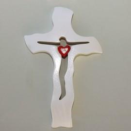 Svadobný krížik A 04 - 20x13 cm