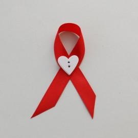 Červené svadobné pierko 10 cm