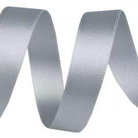 Stuha 12 mm sivo strieborná