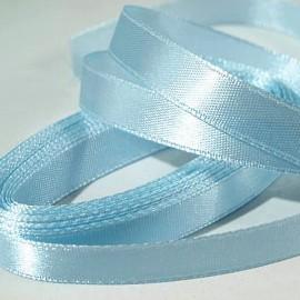 Stuha 12 mm bledo modrá svetlá jemná