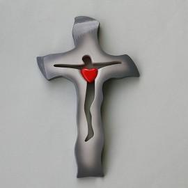Drevený kríž A16 - 29x18 cm