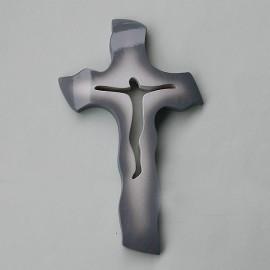 Drevený krížik A09S - 20x13 cm