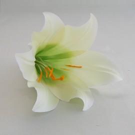 Saténový látkový kvet - ľalia