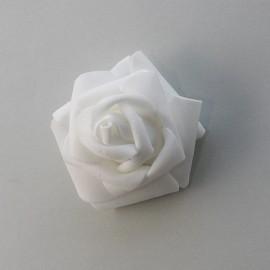 Penové ruže biele 6 cm skladom