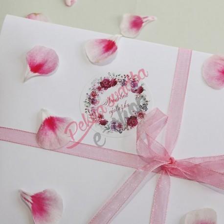 Set nálepiek na svadobnú výslužku