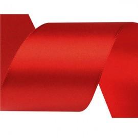 Stuha 50 mm červená korálová