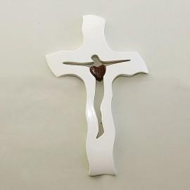 Svadobný kríž 28x17 cm biely A11B