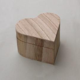 Drevená truhlička na prstienky