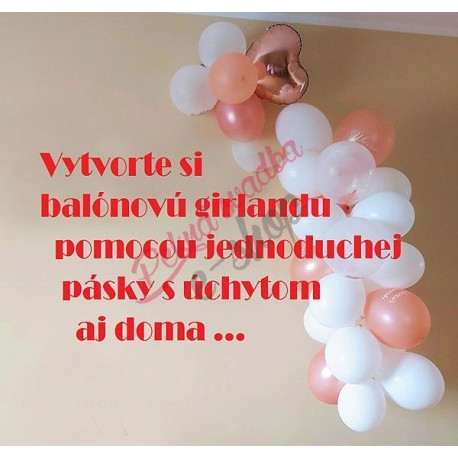 Páska na balónovú girlandu