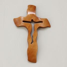 Drevený krížik 21x13 cm - A05