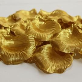 Látkové lupene zlaté - 100 ks