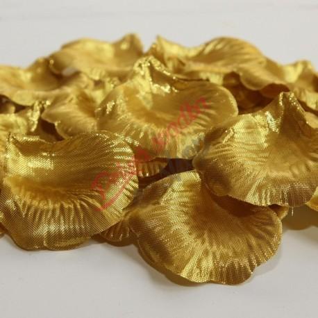 Látkové lupene zlaté