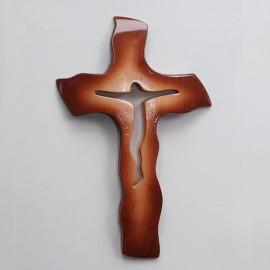Drevený krížik 22,5x13 cm - A09