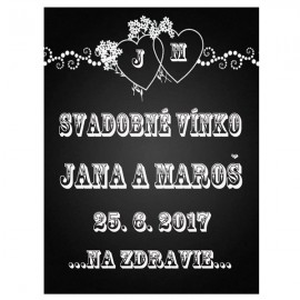 Svadobné etikety č. 71