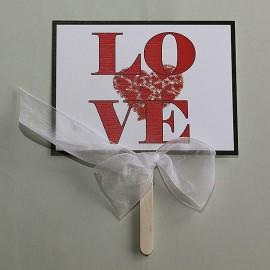 Tabuľka na fotenie LOVE